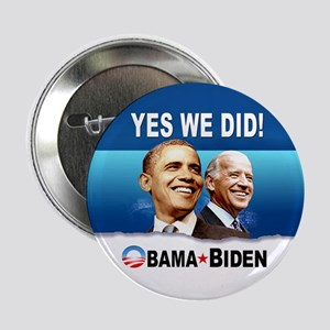 """Yes We Did! 2.25"""" Button"""