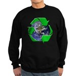 Earth Day Recycle Sweatshirt (dark)