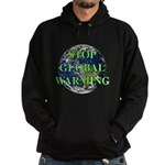 Stop Global Warming Hoodie (dark)