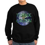 Think Green Earth Sweatshirt (dark)