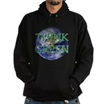 Think Green Earth Hoodie (dark)
