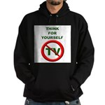 Think For Yourself Hoodie (dark)
