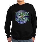 Think Green Double Sided Sweatshirt (dark)