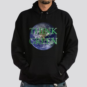 Think Green Double Sided Hoodie (dark)