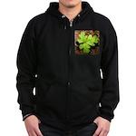 Poison Oak Zip Hoodie (dark)