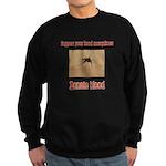 Donate Blood Mosquito Sweatshirt (dark)