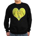 Hug your Kids Heart Sweatshirt (dark)
