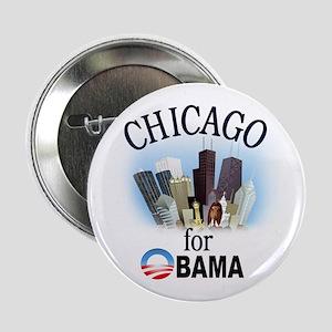 "Chicago for Obama 2.25"" Button"