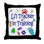 Li'l Tracker Throw Pillow