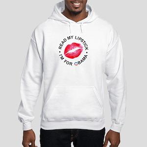 Lipstick Hooded Sweatshirt