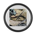California Slender Salamander Large Wall Clock