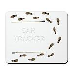 SAR Tracker Shoes Mousepad