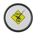 Eagle Crossing Large Wall Clock