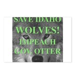 Save Idaho Wolves Postcards (Package of 8)