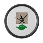 Flying Raven Large Wall Clock