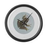 Pacific Treefrog Large Wall Clock