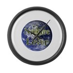 Nature Lover Earth Large Wall Clock