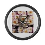 Walt Whitman Nature Quote Large Wall Clock