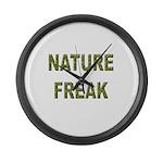 Nature Freak Large Wall Clock