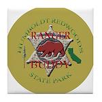 Ranger Buddy Tile Coaster