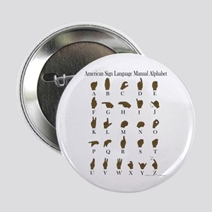 "ASL Alphabet 2.25"" Button"