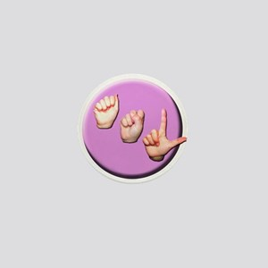 ASL Logo Mini Button
