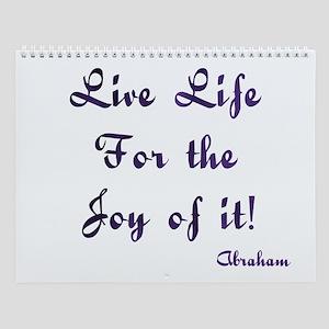 Life Live Design #28 Wall Calendar