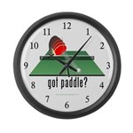 """Got paddle?"" Table Tennis Large Wall Cl"