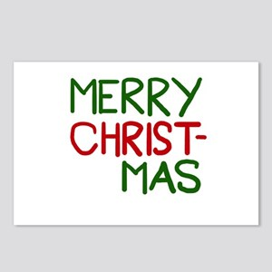 Merry Christmas Cool Postcards (Package of 8)