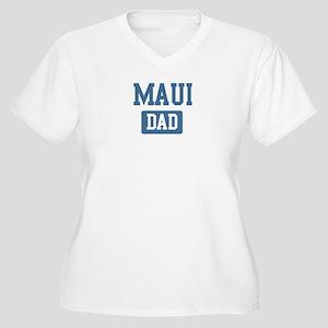 Maui dad Women's Plus Size V-Neck T-Shirt