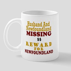 Husband & Newfoundland Missing Mug