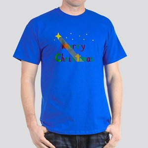 Christmas Star Dark T-Shirt