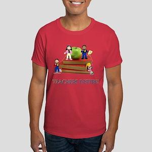 Teachers Inspire Dark T-Shirt
