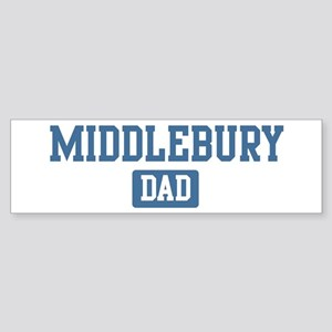 Middlebury dad Bumper Sticker