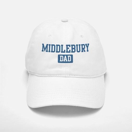 Middlebury dad Baseball Baseball Cap
