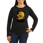 Ancient Women's Long Sleeve Dark T-Shirt