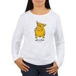 gold bullion Women's Long Sleeve T-Shirt