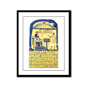 Stele of Revealing Framed Panel Print