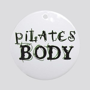 pilates body Ornament (Round)