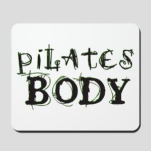pilates body Mousepad