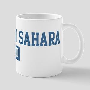 Western Sahara dad Mug