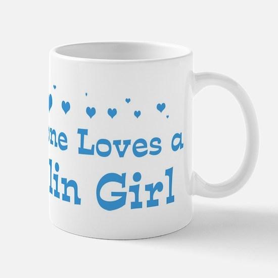 Loves Dublin Girl Mug