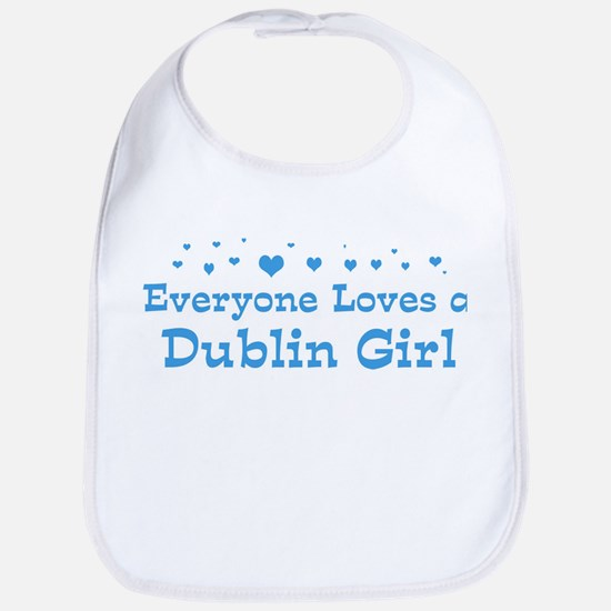 Loves Dublin Girl Bib