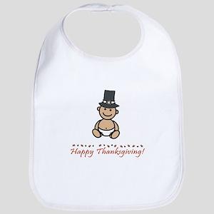 """Happy Thanksgiving!"" Bib"
