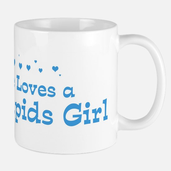 Loves Cedar Rapids Girl Mug