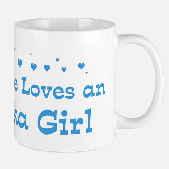 Loves Alaska Girl Mug