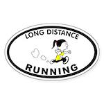 Julie Long Distance Oval Sticker