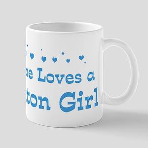 Loves Brockton Girl Mug