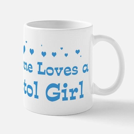 Loves Bristol Girl Mug