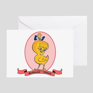 Belizean Chick Greeting Card